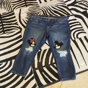 Torrid Disney Mickey Jeans size 22 New with tags